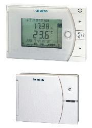 Электронные контроллеры комнатной температуры с таймером, большим дисплеем и слайдером REV фото