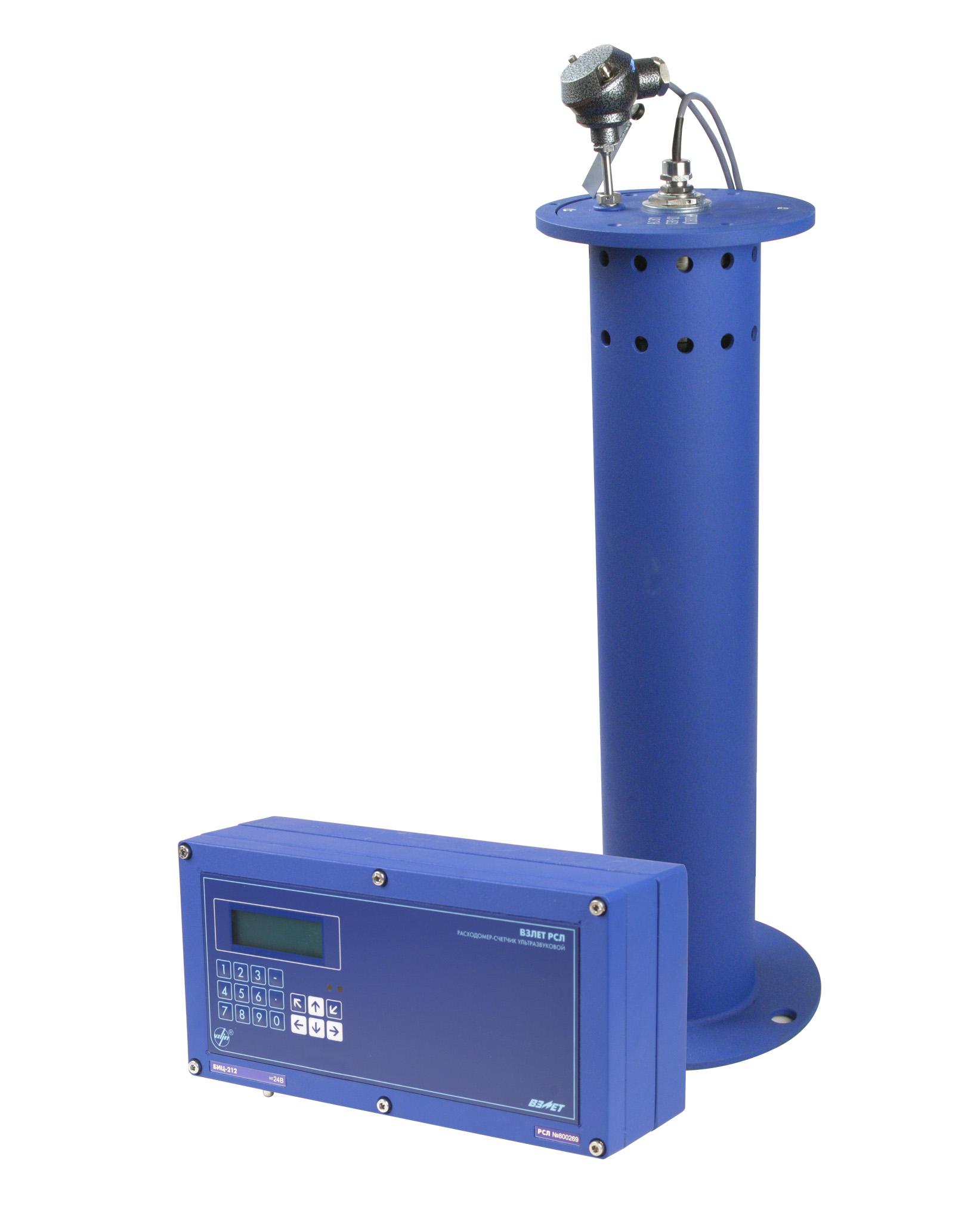Расходомер-счетчик ультразвуковой для безнапорных трубопроводов и открытых каналов ВЗЛЕТ РСЛ (РСЛ-212, -222) фото
