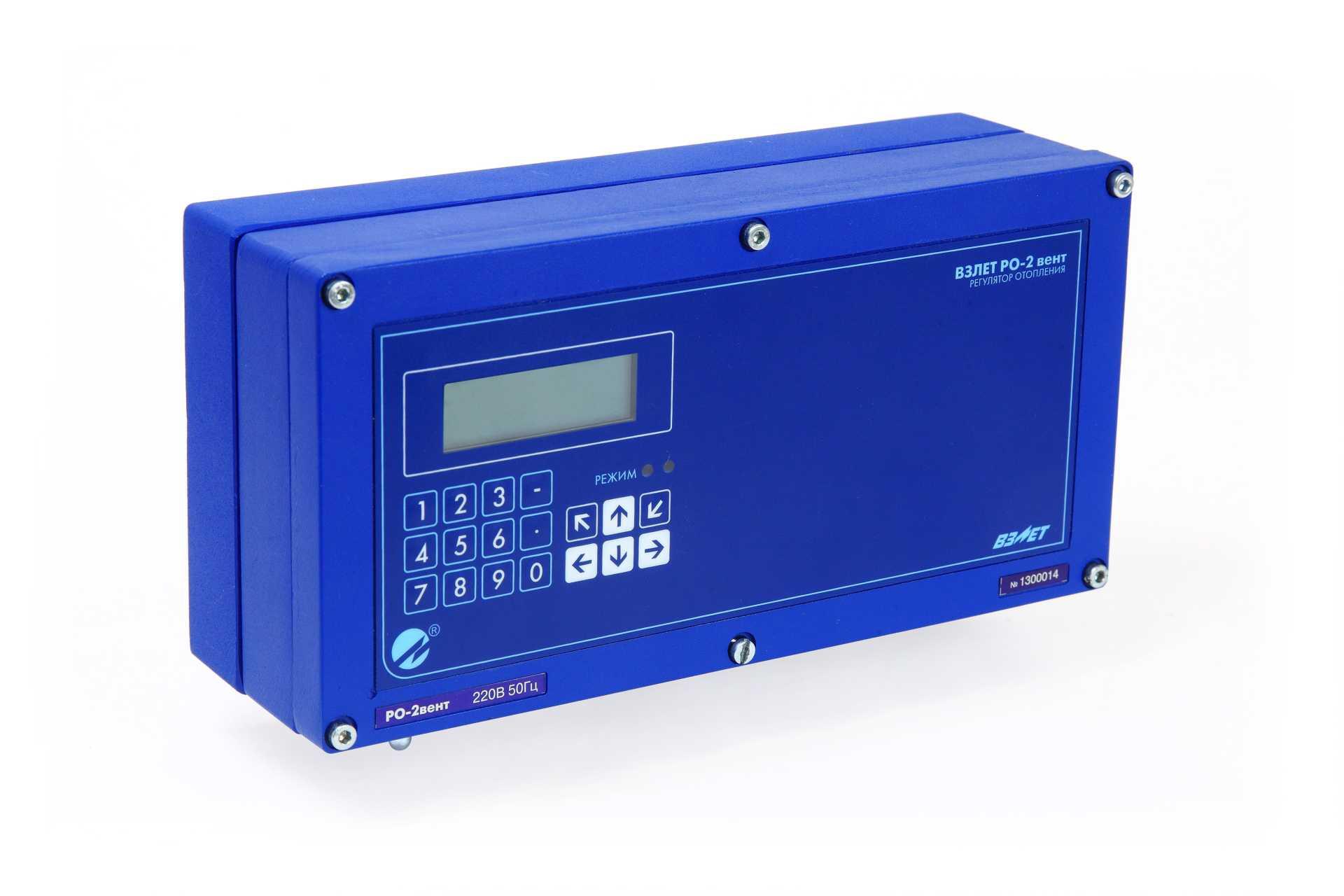 Регулятор отопления ВЗЛЕТ РО-2 вент фото